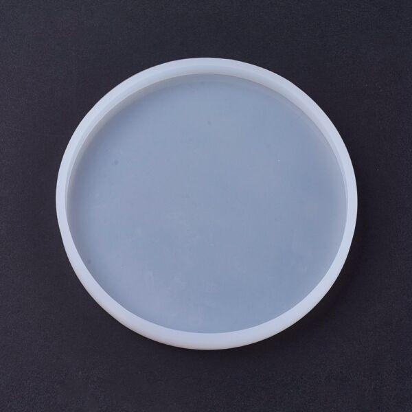 Kör alakú szilikon öntőforma műgyanta öntéshez (137x12mm)