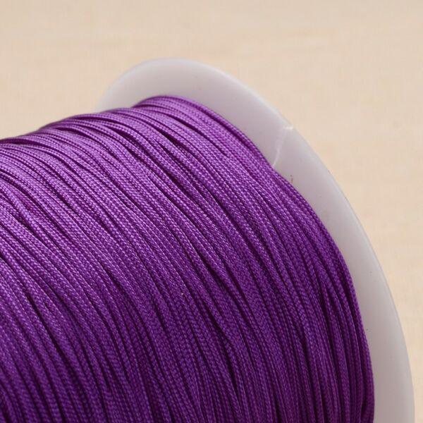 Lila színű microcord zsinór (1mm)