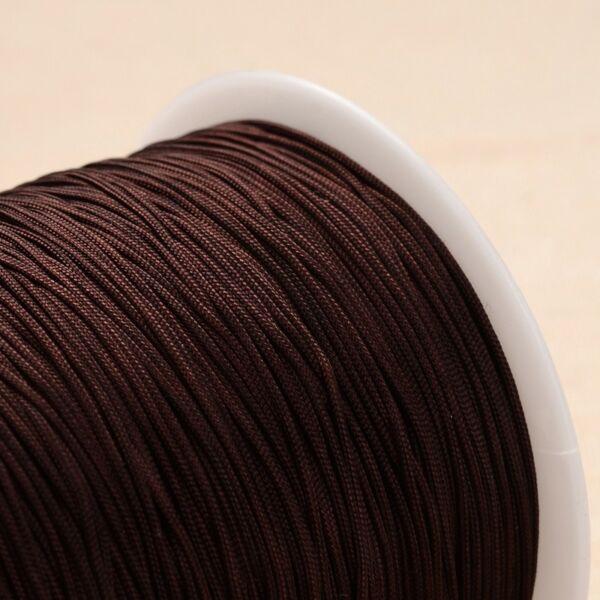 Barna színű microcord zsinór (1mm)