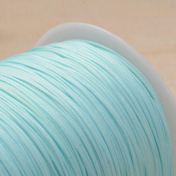 Menta színű microcord zsinór (1mm)