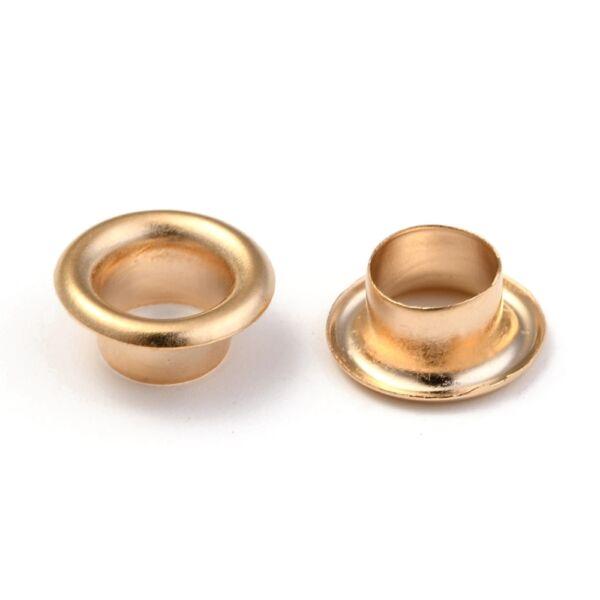 Arany színű nemesacél gyöngy lezáró kupak
