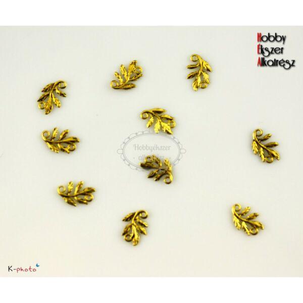 4 db antikolt arany színű kapcsolóelem