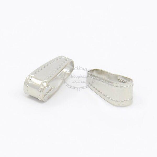 10db antikolt ezüst színű medáltartó