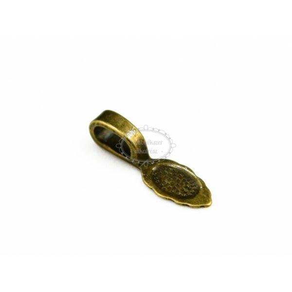 Antikolt bronz színű medáltartó