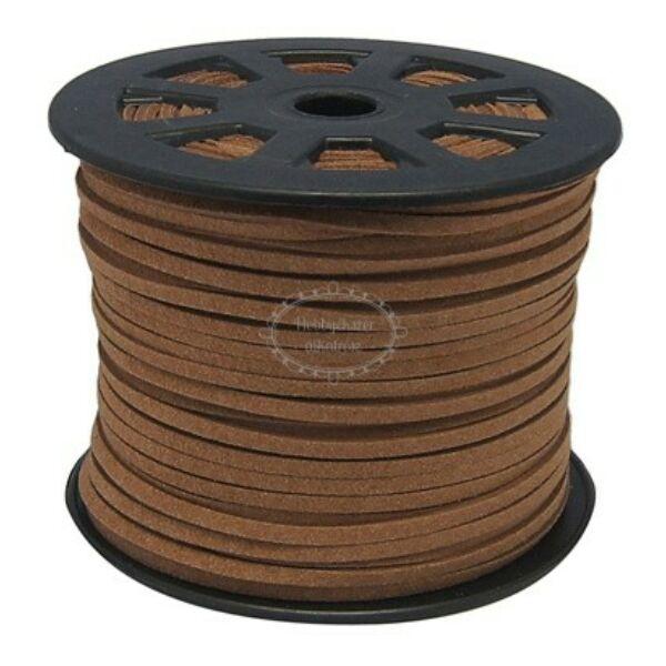 Tejeskávé színű hasított bőrszál (3mm)
