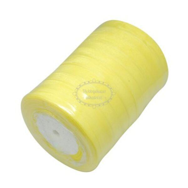 Citromsárga organza szalag (10mm)