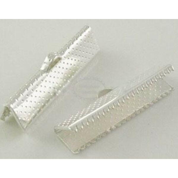 10db ezüst színű szalagvégzáró (25mm)