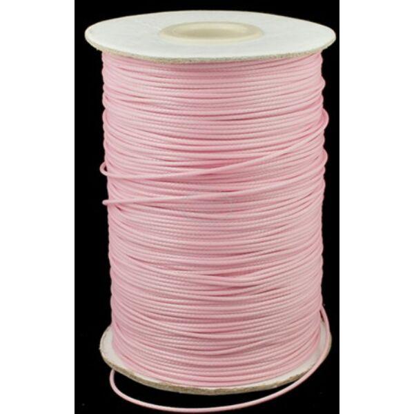 Halvány rózsaszín viaszolt szál (1mm)