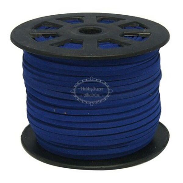 Kék hasított bőrszál (3mm)
