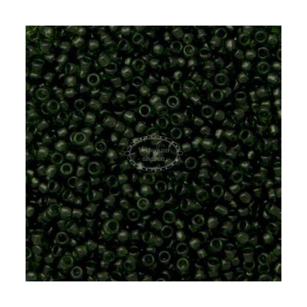 Toho kásagyöngy áttetsző oliva (940) 15/0