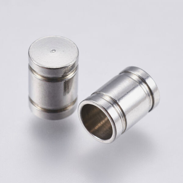 Nemesacél végzáró (7x5mm)