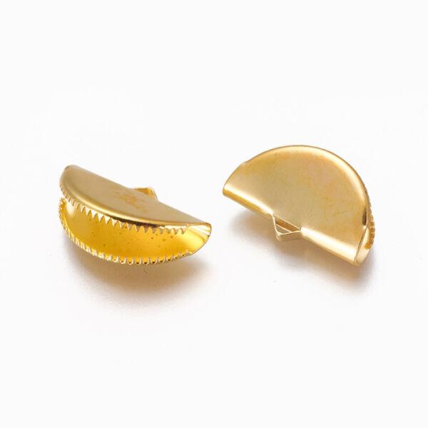 1db Arany színű szalagvégzáró (12x20mm)