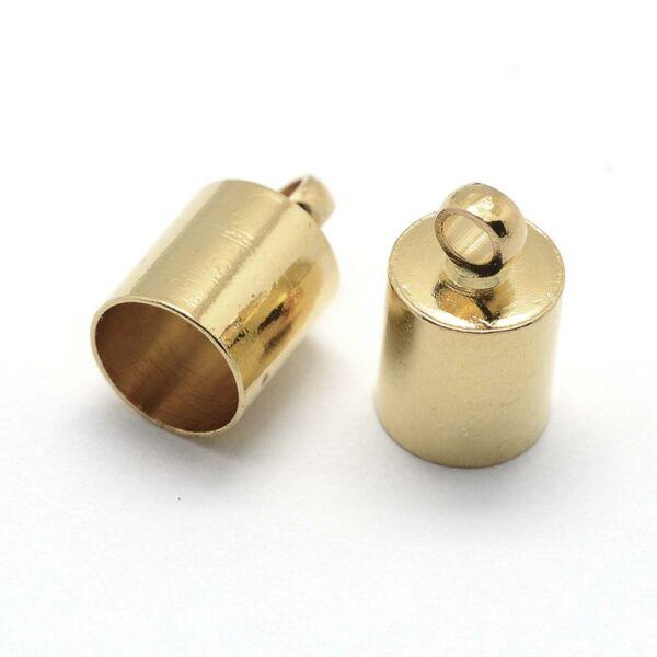 Arany színű végzáró zsinórhoz (10x5mm)