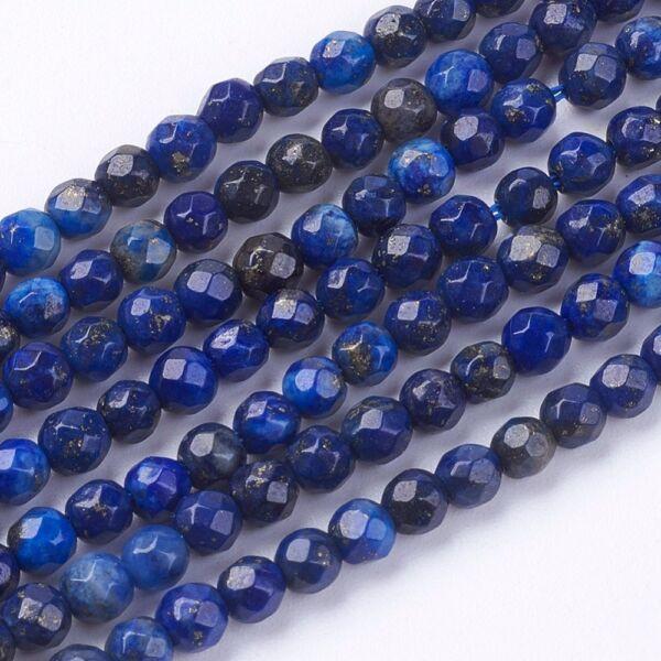 Lapis lazuli ásványgyöngy (3mm)/30db