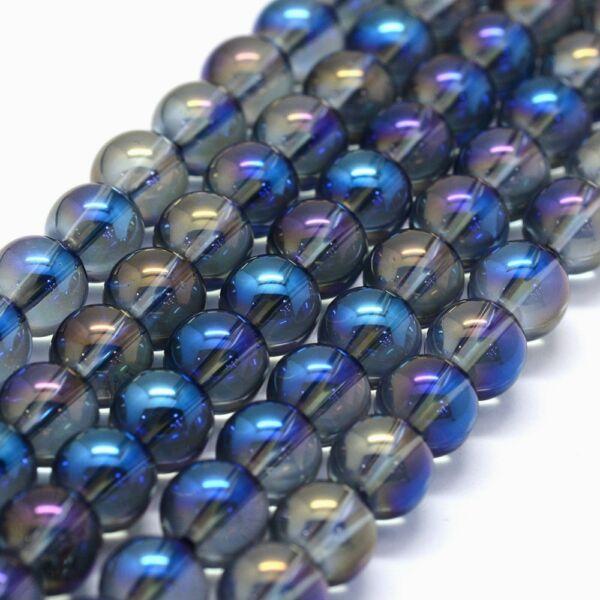 Aura kvarc ásványgyöngy (6mm)/10db
