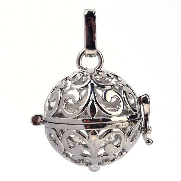 Antikolt ezüst angyalhívó (13)
