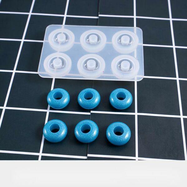 Gyöngy készítő szilikon öntőforma műgyanta öntéshez (6)