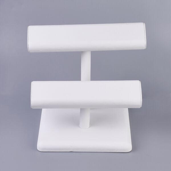 Kettes karkötő tartó állvány (fehér)