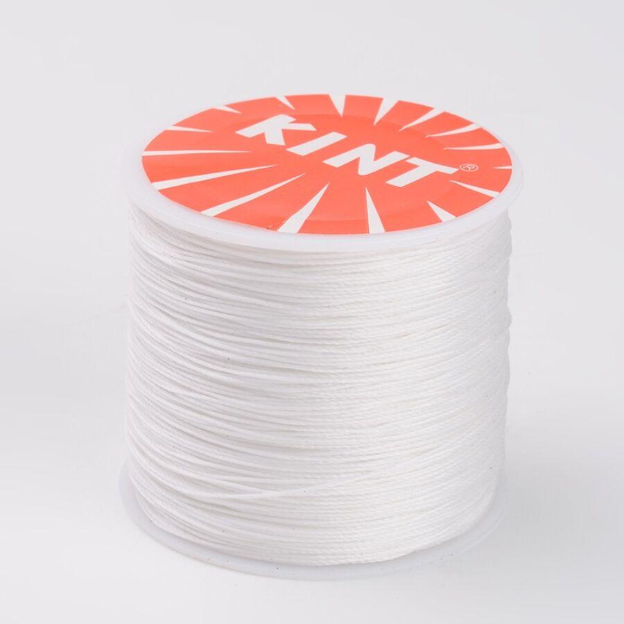 Fehér viaszolt szál (0,5mm)