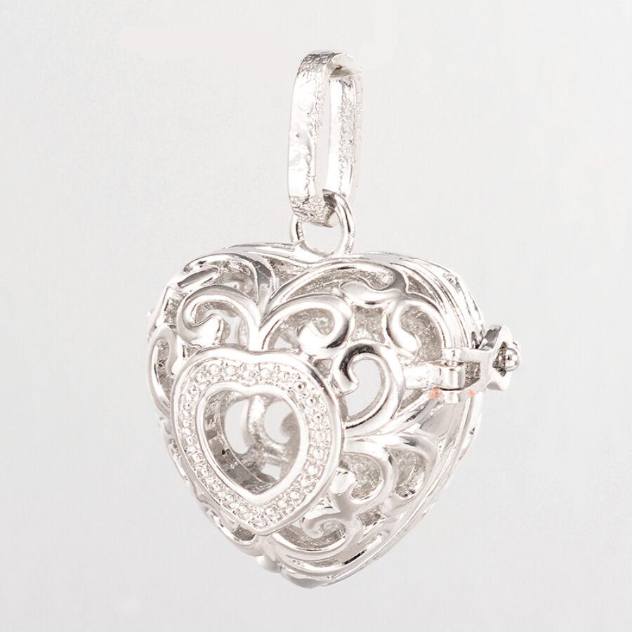 Antikolt ezüst angyalhívó (8)