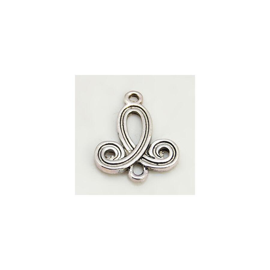Antikolt ezüst színű magyaros kapcsolóelem