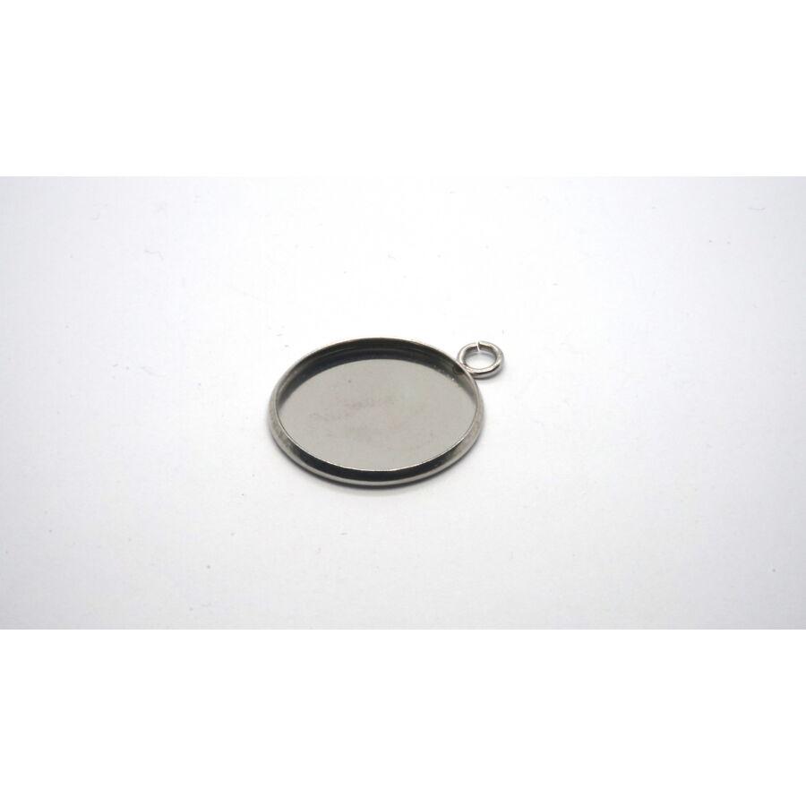 Nemesacél medálalap (12mm)