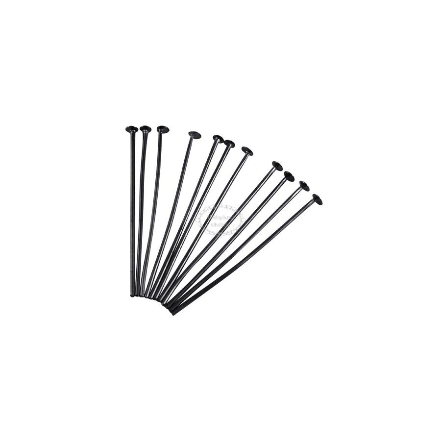 50db fekete talpas szerelőpálca (40mm)