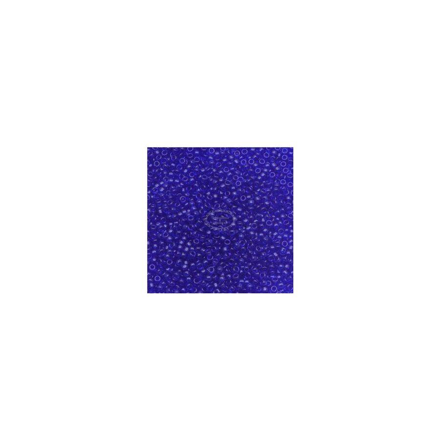 Toho kásagyöngy áttetsző kobalt 15/0 (8)