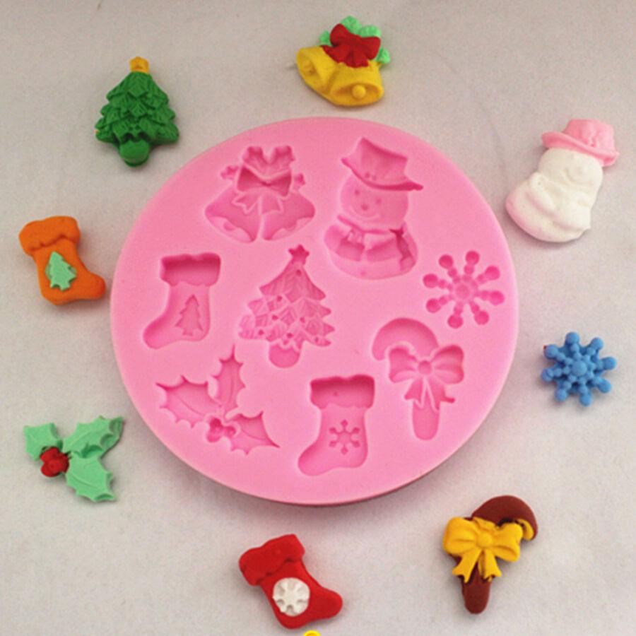 Karácsonyi kör alakú öntőforma műgyanta öntéshez