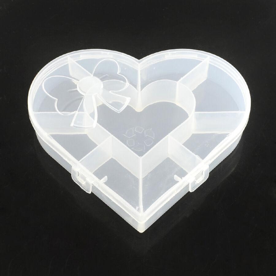 Szív alakú tárolódoboz